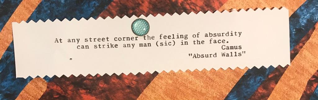 Camus says...